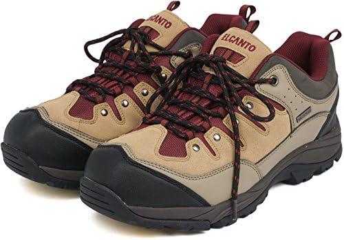 エルカント ELCANTO ユニセックス 替え紐付き トレッキングシューズ 防水 登山靴 アウトドア メンズ レディース