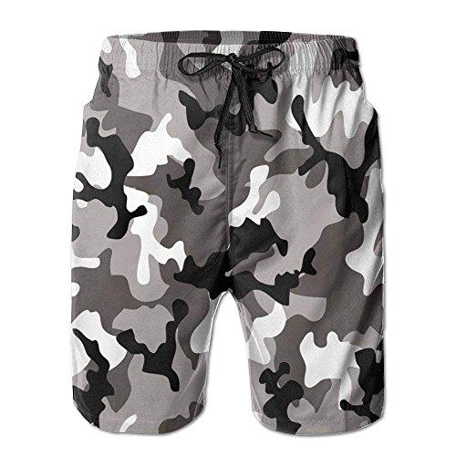 Negozio Stampa Dell'esercito Camuffamento Tronchi Rapidi Rossi Pantaloncini 3d T Dryswim shirt Di Mens 1Wx6w78q1r