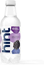 Hint Water Blackberry, (Pack of 12) 16 Ounce Bottles, Pure Water Infused with Blackberry, Zero Sugar, Zero Calories, Zero Sw
