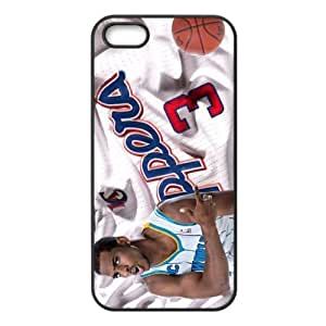 iPhone 5/5s TPU Case with LA Clippers Chris Paul Image Background Design-by Allthingsbasketball