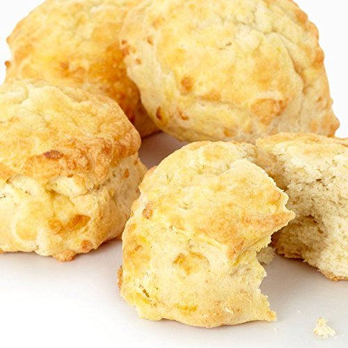 Glazed Cheese Scones