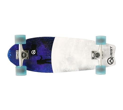 Quest Fishtail Cruiser Board Skateboard, 8 x 27-Inch Review
