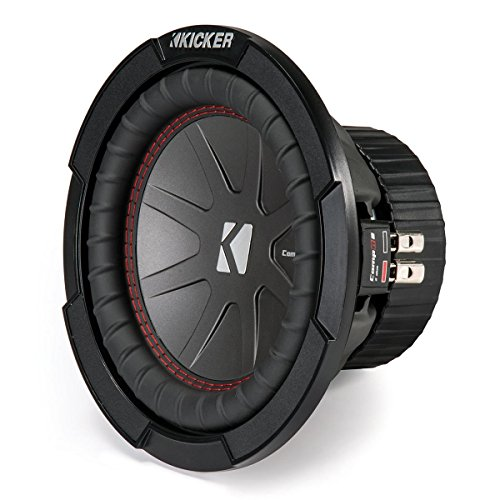 Kicker CompR 8'' 4-Ohm Subwoofer by Kicker