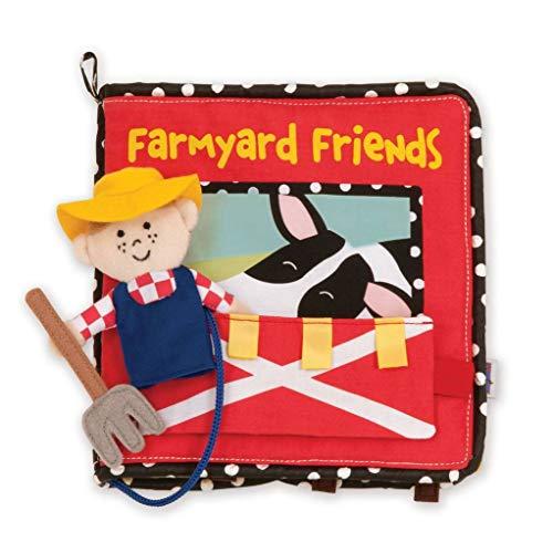 Manhattan Toy Farmyard Friends Soft Activity Book