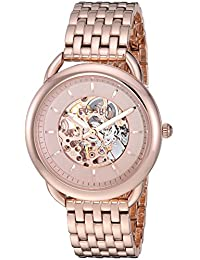 Fossil Women's ME3145 Tailor Automatic Rose Gold-Tone Stainless Steel Watch