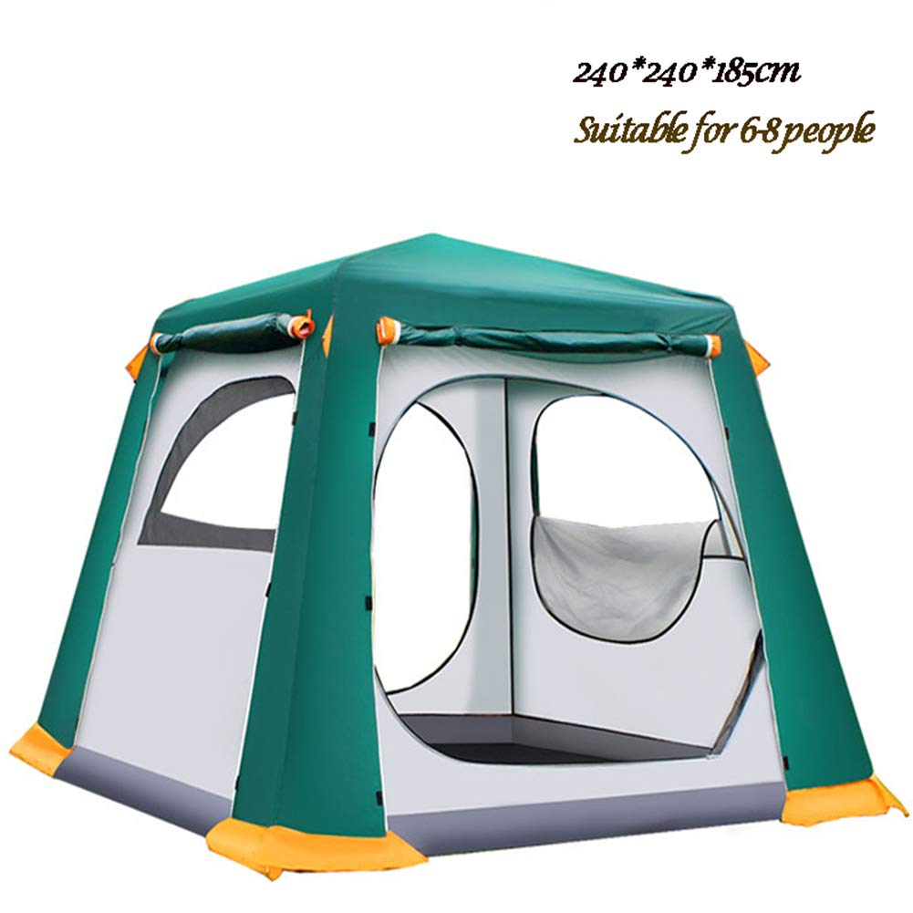 MAI&BAO Zelt für 3-4,6-8 Personen Mann, wasserdicht UV-Schutz für Outdoor Sport Camping Wandern Reisen Strand Großer Raum Familienzelt mit 4 Jahreszeiten
