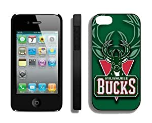 Amazing Unique Iphone 4s Case NBA Milwaukee Bucks Special Cheap Element New Designer Iphone 4 Protective Cover