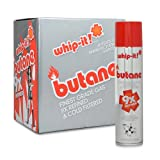 12 cans (1 case) Whip-it! 300ml 9x Refined Butane Fuel