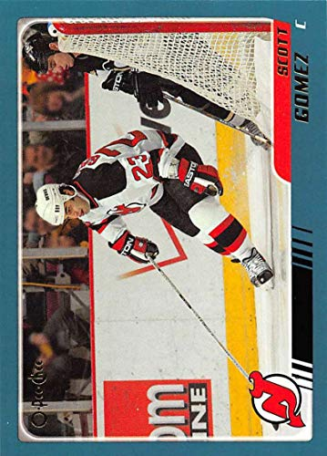 - 2003-04 O-Pee-Chee Hockey Card #159 Scott Gomez New Jersey Devils Official NHL Trading Card