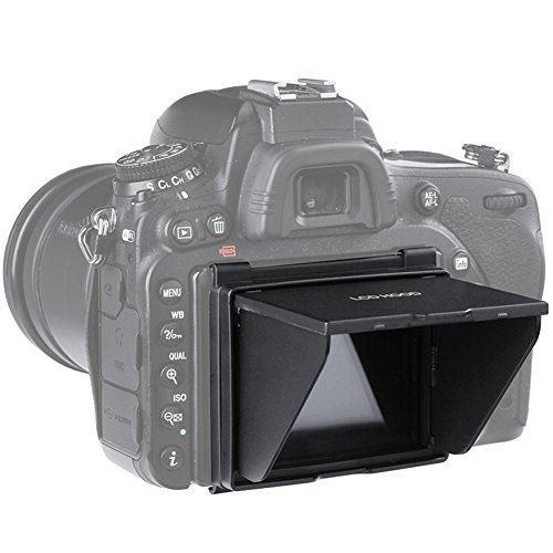 Lcd Hood Pop Up (Sun Shield Pop-up LCD Hood,Sun Shade & Screen Protector for Camera LCD HOOD (Camera LCD HOOD-Nikon D7500))