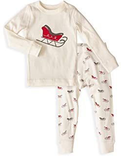 Skylar Luna Unisex Pajamas Set- 100% Organic Turkish Cotton- Unisex Long Sleeve