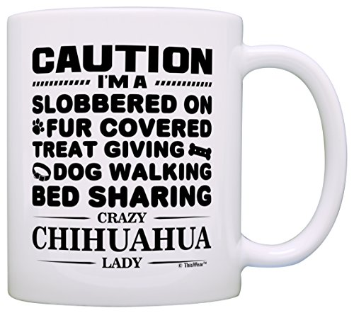 Lover Gifts Women Chihuahua Coffee