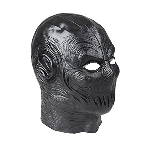 CosplayDiy Men's Mask for Halloween The Flash Zoom Cosplay Custom Made (The Flash Cw Costume)