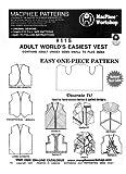 Patterns - MacPhee #115 - Adult World's Easiest Vest