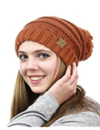 NYFASHION101® Pom Pom Oversized Baggy Slouchy Thick Winter Beanie Hat