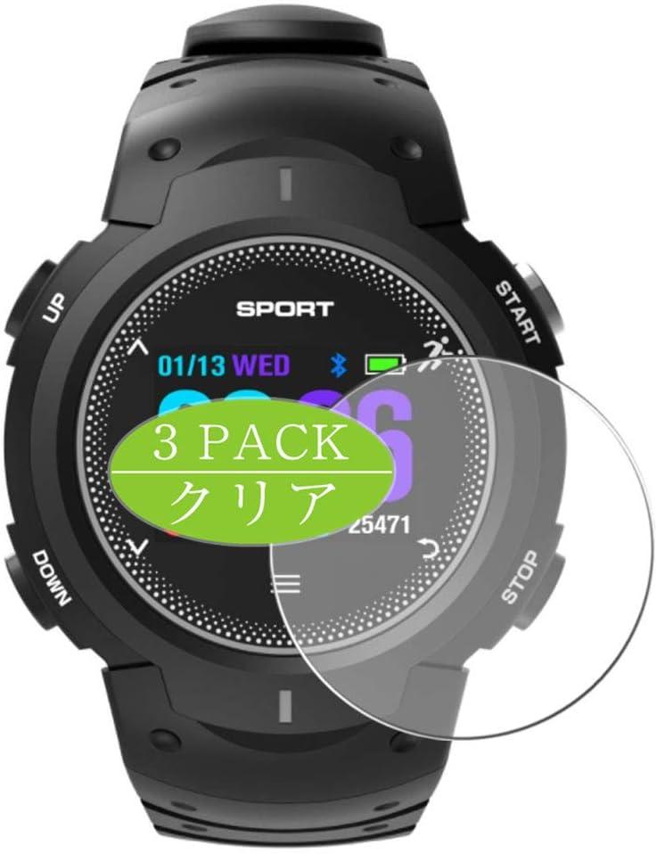 VacFun 3 Piezas HD Claro Protector de Pantalla para Smartwatch Smart Watch F13, Screen Protector Sin Burbujas Película Protectora (Not Cristal Templado)