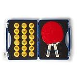 JOOLA 56733 Competition Table Tennis Tour Case Set, Blue