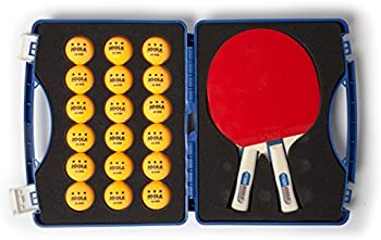 Joola Competition Table Tennis Tour Case w/ Two Python Rackets