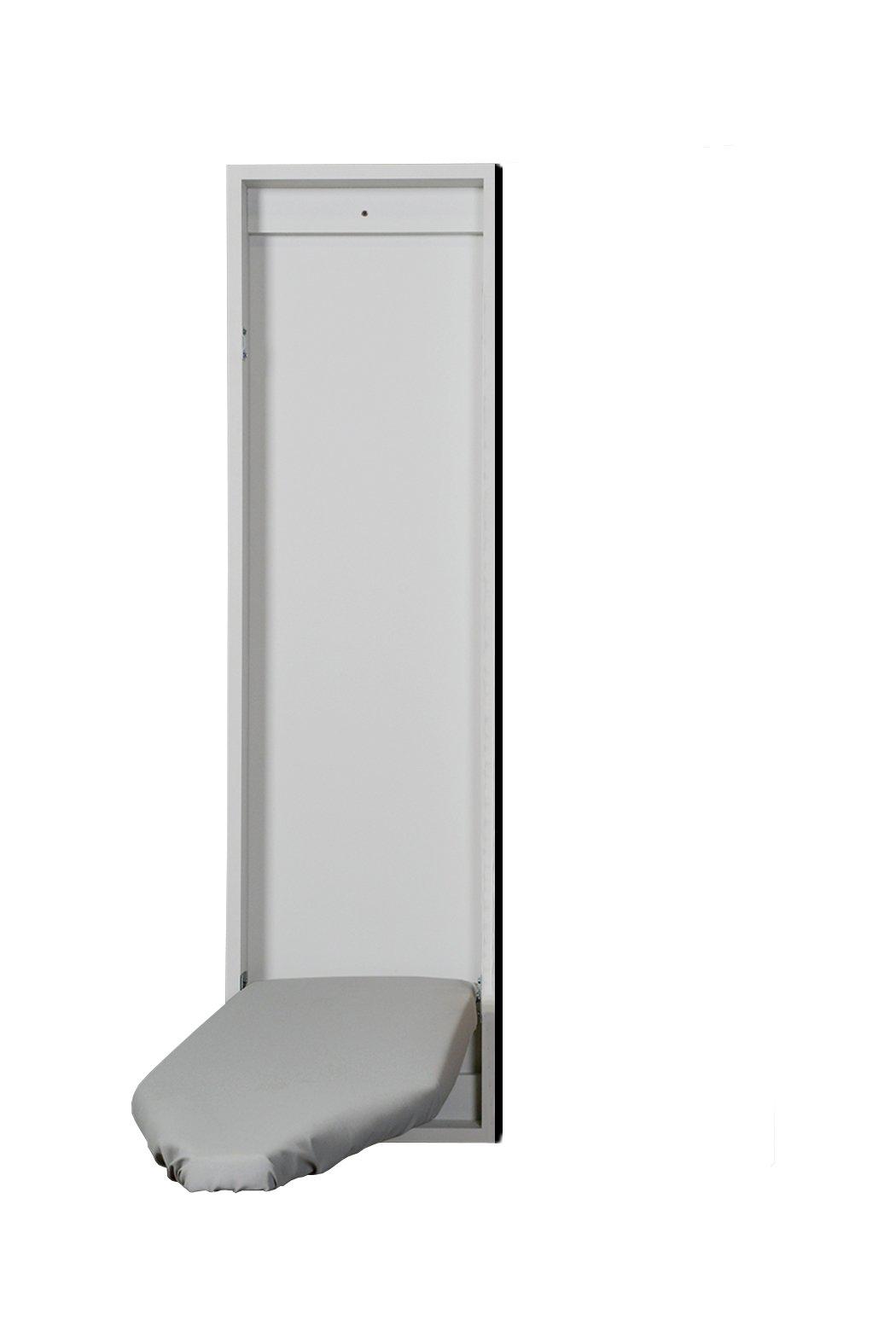 Iron-A-Way Economy Surface Or Flush Mount Ironing Center, No Door