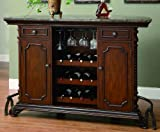 Coaster Home Furnishings Traditional Bar Unit, Cherry Review