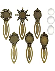 iloveDIYbeads Craft Supplies Bookmark Charms Pendants for Crafting, Jewelry Findings Making Accessory for DIY Necklace Bracelet