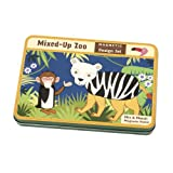 Mudpuppy Mixed-up Zoo Magnetic Build-its