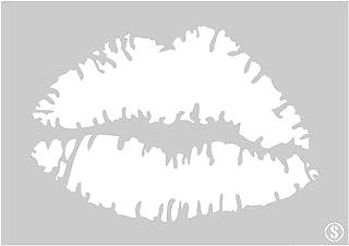 The Stencil Studio - Lips Reusable Stencil - Size Small (A4) (10100S)