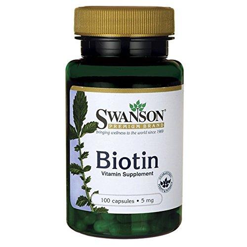 Swanson SW877 Biotin 100 Caps