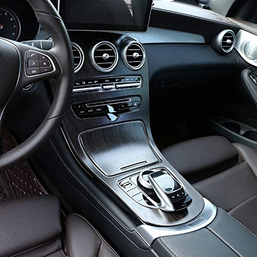 Nrpfell Auto ABS Mittelkonsole Panel Dekoration Abdeckungsverkleidung f/ür Mercedes C Klasse W205 GLC X253