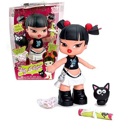 Bratz MGA Entertainment Big Babyz So Cute Series 13 Inch Doll - JADE with Removable Hair Extension, Kool Kat the Pet Cat, Designer Diaper and Jade's Personal Style Certificate ()