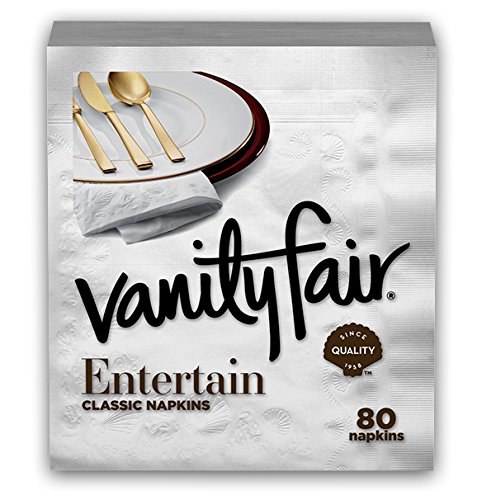 Vanity Fair Entertain Napkins Packaging product image