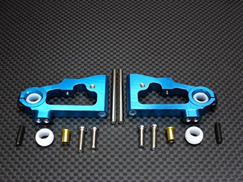 Tamiya TT-01D, TT-01 XB Pro Upgrade Parts Aluminum Front Lower Arm - 1Pr (Drift) Blue