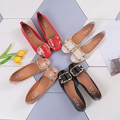Flats Ballet En Hiver overdose Chaussures Cuir Ballerines Plates À Loafers Automne Boucle Kaki Soldes Casual Femme 0zAFq6P