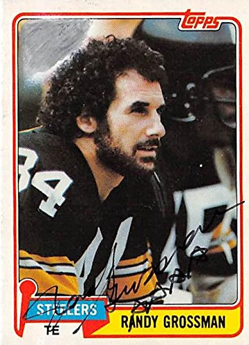 c815db51cb3 Image Unavailable. Image not available for. Color: Randy Grossman  autographed football card (Pittsburgh Steelers) ...