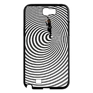Sexyass Art Samsung Galaxy Note 2 Case OP ART People, Art, {Black}