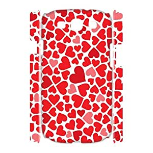 HOPPYS Love Pink Customized Hard 3D Case For Samsung Galaxy S3 I9300