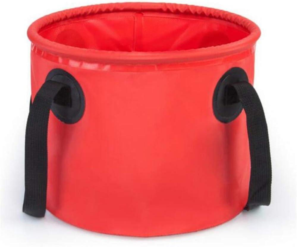 ZFH Cubeta Plegable Lavadora de Cubos Contenedor Plegable de Agua Compacto y de Primera Calidad Ligero Materiales duraderos y respetuosos con el Medio Ambiente de Calidad,Red