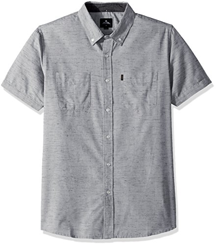 Rip Curl Men's Endy Ss Shirt, Off White (Ofw), ()