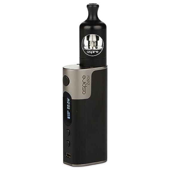 Cigarrillo electrónico, Aspire Zelos 50W Kit de vaporizador con 2500mAh Zelos Battery Mod y Nautilus 2 Atomizador Cigarrillo electrónico E-cigs Humo enorme, ...