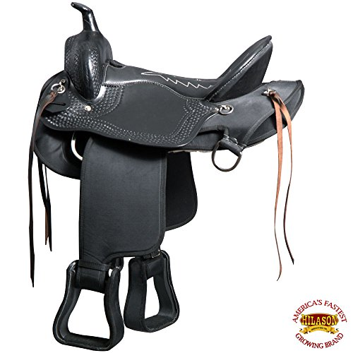 Great American M3-17 Gaited Western Trail Horse Synthetic Saddle