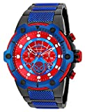 Invicta Men's 'Marvel' Quartz Stainless Steel Casual Watch, Color:Two Tone (Model: 25782)