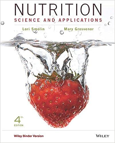 Nutrition Science And Applications 4th Edition 4 Smolin Lori A Grosvenor Mary B Amazon Com