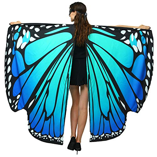 Halloween/Party Prop Soft Fabric Butterfly Wings Shawl