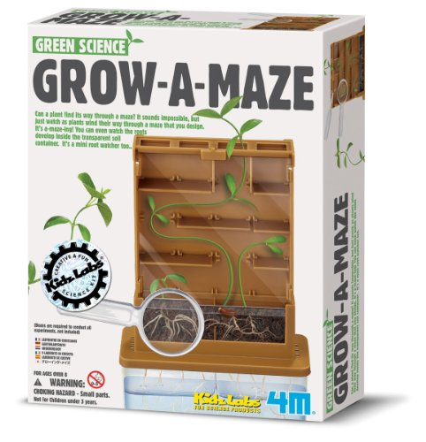 4M Grow-A-Maze Green Science Kit]()