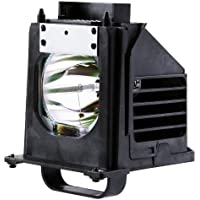Philips OEM PHI/684 Replacement DLP Bare Bulb for Mitsubishi 915P061010 with Housing