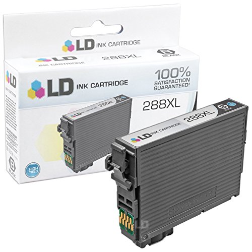 LD Products Remanufactured Ink Cartridge Replacement for Epson T288XL120 ( Black )