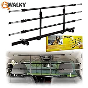 Walky Guard Adjustable Car Barrier for Pet Automotive Safety