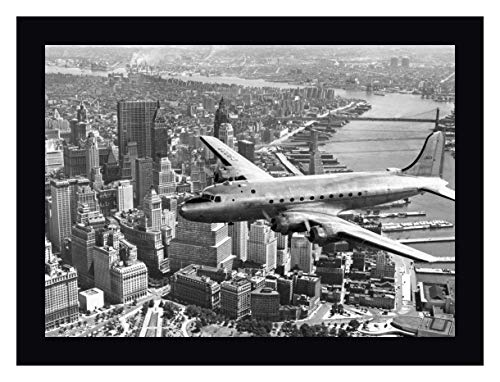 (Flying Over Manhattan, NYC by Anonymous - 24
