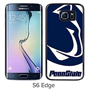 Popular Design Samsung Galaxy S6 Edge Case Ncaa Big Ten Conference Football Penn State Nittany Lions 1 Black Best New Design Samsung Galaxy S6 Edge Cover Case