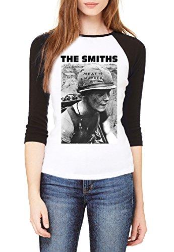 The Smiths Meat is Murder Women Baseball Shirt Small (Shirt Murder Meat T Smiths Is The)